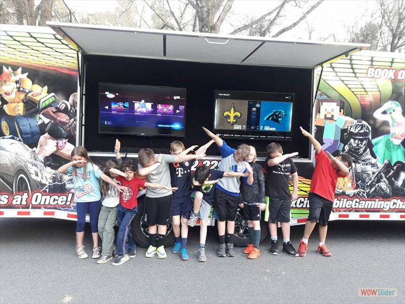 Game Truck, Laser Tag, Glamour Party - Charlotte Gaffney