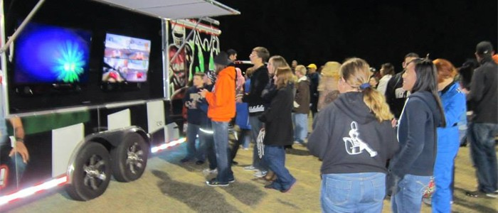 Video Game Truck Birthday Party In Charlotte North Carolina